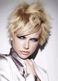 окрашивание балаяж на короткие волосы 1