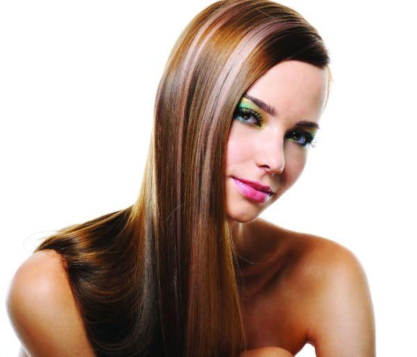 Колорирование коричневых волос