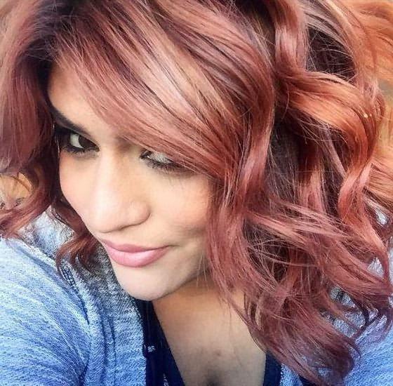 цветное мелирование волос