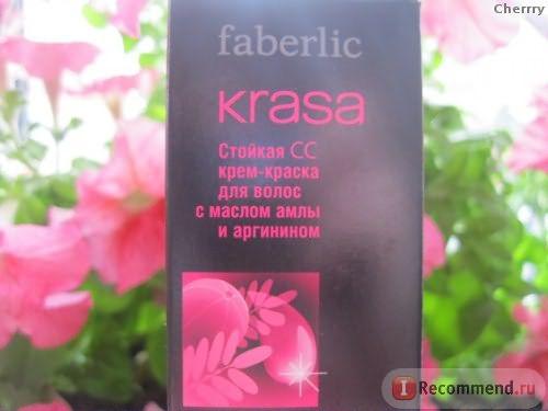 Стойкая СС крем-краска для волос Faberlic Krasa фото