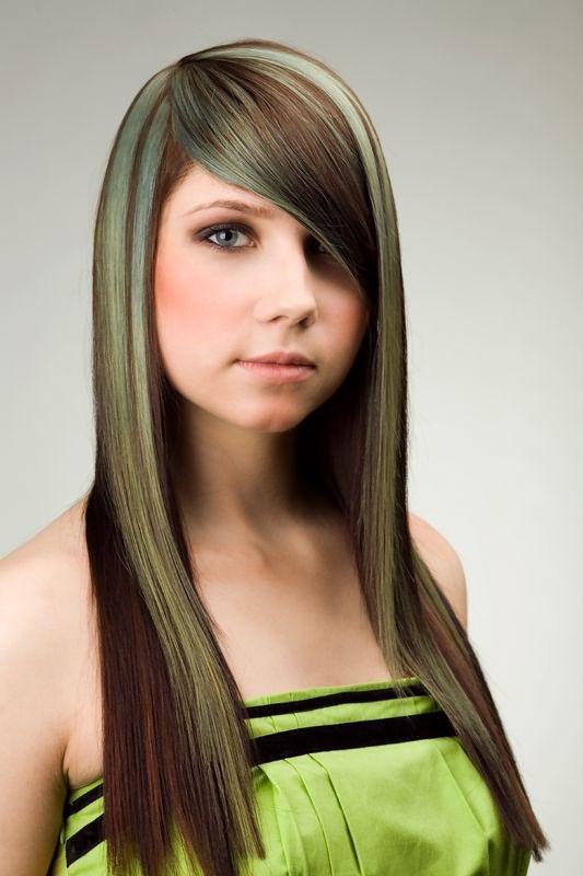 Как избавиться от зелёного оттенка волос