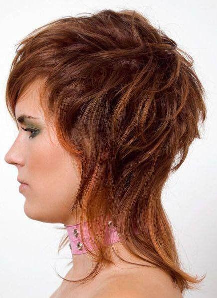 Стрижка аврора на средние волосы 2