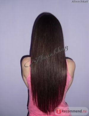 Волосы после кератинового выпрямления Cocochoco
