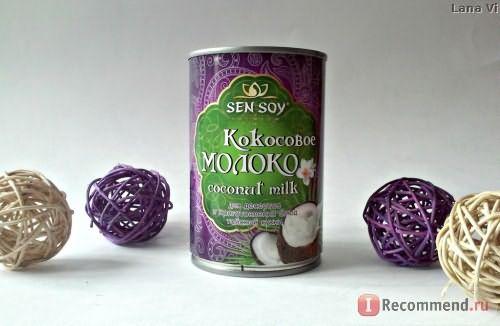 Кокосовое молоко СЭН СОЙ Премиум Coconut milk фото