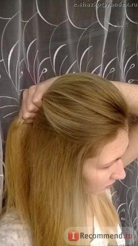 ПОСЛЕ Высушила волосы