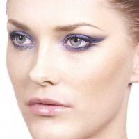 макияж для русых с серо голубыми глазами 5