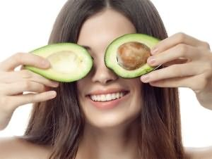 Авокадо предотвратит сечение волос.