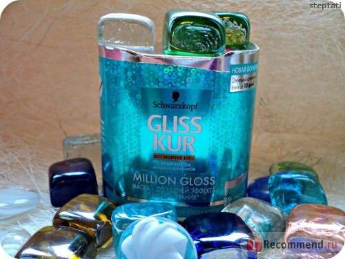 Маска для волос Gliss kur Million Gloss с эффектом ламинирования фото