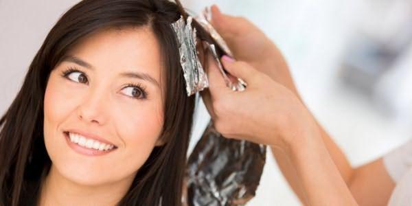 Окрашивание волос мастером