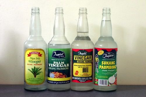 Уксус делают из самых разных продуктов: яблок, винограда, груш и пр.
