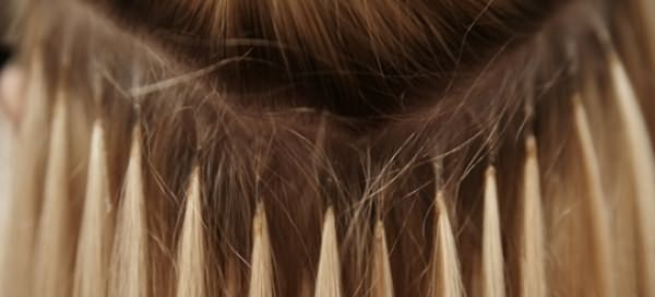 Микрокапсульное наращивание на короткие волосы вид