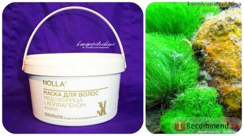 Маска для волос «Мёд & корица» с коллагеном