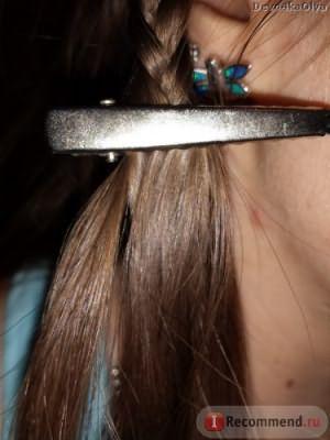 Омбре на русых волосах в домашних условиях