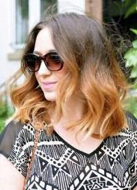 омбре на средние волосы9