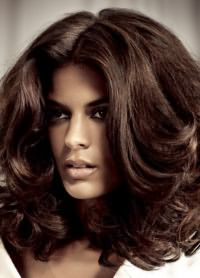 коричневые волосы 6