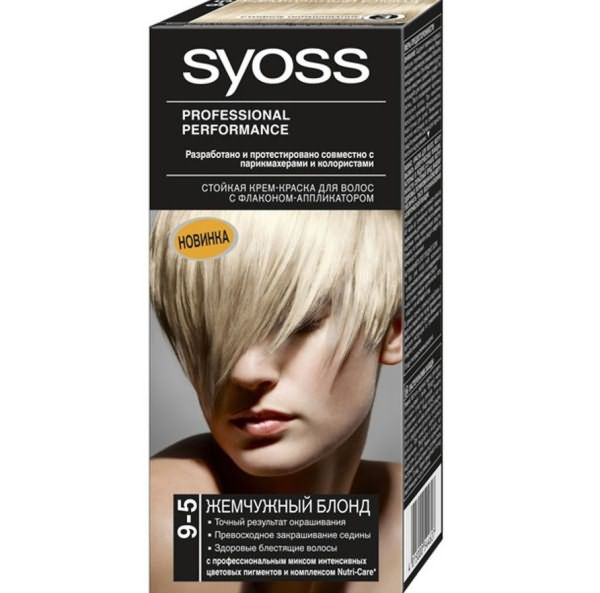 Syoss color блонд
