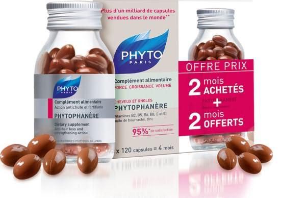 Витамины для волос Phyto