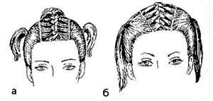 косички с длинными волосами