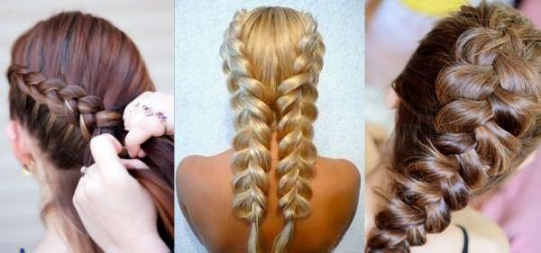 Разновидности кос