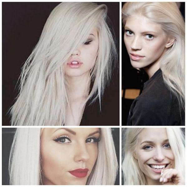 цвет холодный блонд