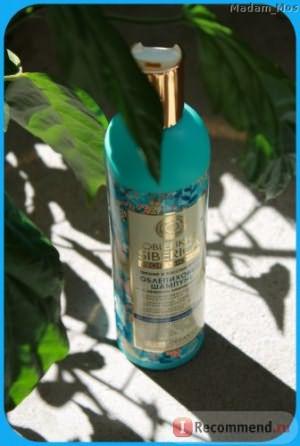 Шампунь Natura Siberica Oblepikha Professional Питание и восстановление с эффектом ламинирования фото
