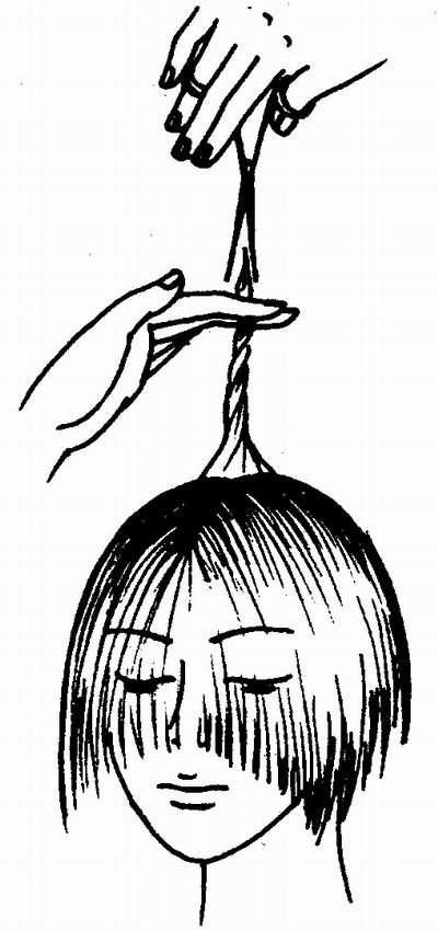 оформление макушки