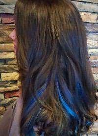 синие пряди 5