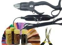 инструменты для наращивания волос