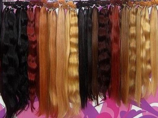 Фото прядей различного цвета