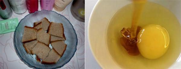 Шампунь из хлеба против облысения