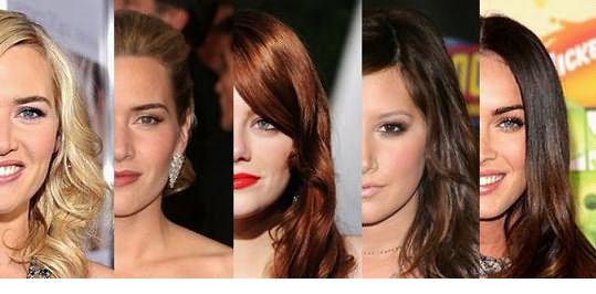 Варианты сочетания цвета глаз и цвета волос