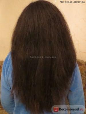 выпрямленный волос
