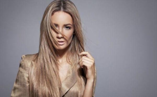 Бронд-окрашивание на тонких волосах