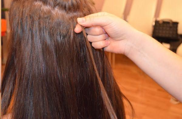 Соблюдайте определенные правила ухода за наращиваемыми волосами