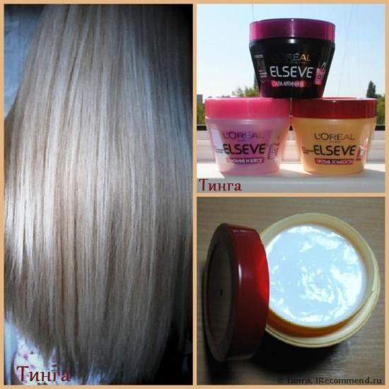 Маска для волос L'Oreal Elseve Против ломкости фото