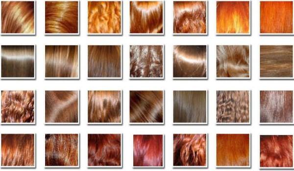 Какие оттенки может дать хна для волос в разной степени интенсивности