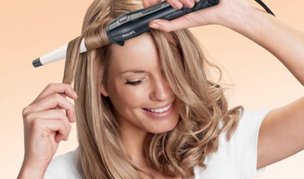 Укладка волос при помощи плойки может приносить удовольствие