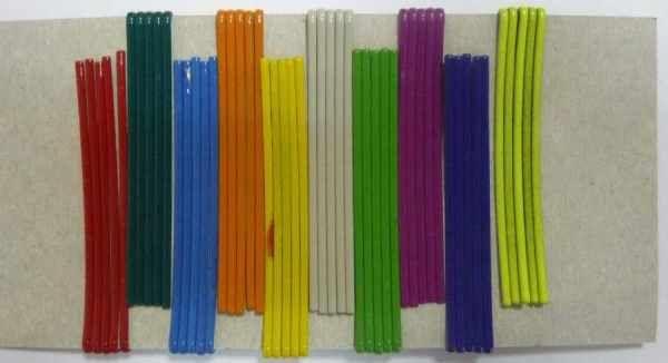 Разноцветные заколки