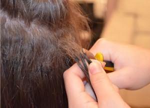 Как снять нарощенные волосы 2