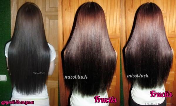 Сыворотка для волос Fructis Наполнитель Массы Волоса (густые и роскошные) фото