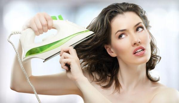 Чтобы выяснить, какое выпрямление волос лучше - обратите внимание на их состояние и тип