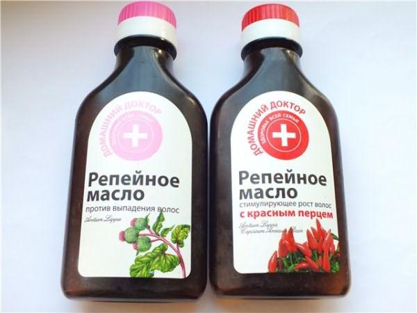 Репейное масло с перцем