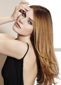 карамельный цвет волос краска 4