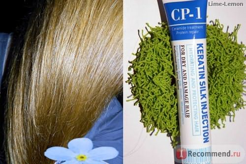 Средство для волос CP-1 Keratin Silk Injection фото