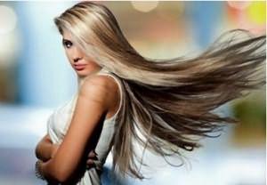 Результат тонирования волос