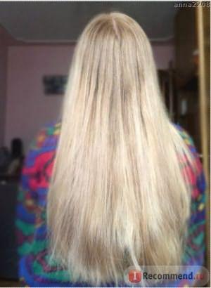волосы после использования шампуня