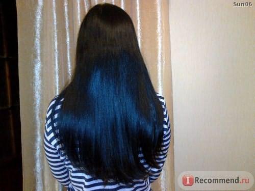 волосы на второй день