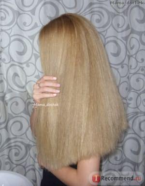 После применения масла Gliss Kur 6 эффектов для восстановления волос