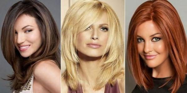Девушки со стрижками на средние волосы для объема
