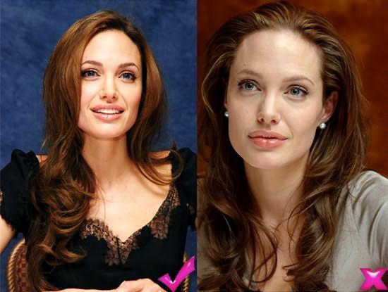 Удачная и неудачные прически Анжелины Джоли